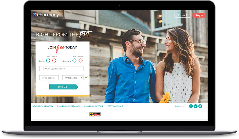 eharmony review matches for free
